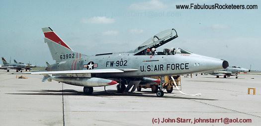 Vintage photos of the North American F-100 Super Sabre ...